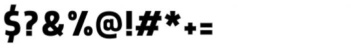 Morl Sans Medium Font OTHER CHARS