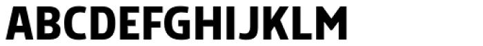 Morl Sans Medium Font UPPERCASE