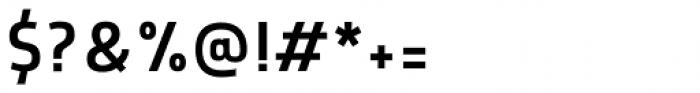 Morl Sans Semi Light Font OTHER CHARS