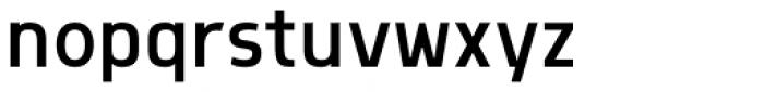 Morl Sans Semi Light Font LOWERCASE