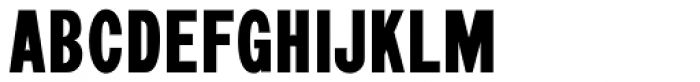 Morning Paper JNL Font UPPERCASE