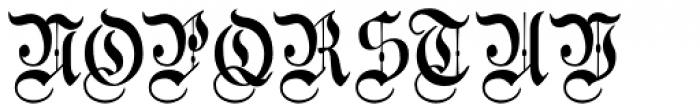 Morover Plain Font UPPERCASE