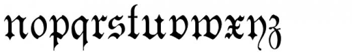 Morover Plain Font LOWERCASE