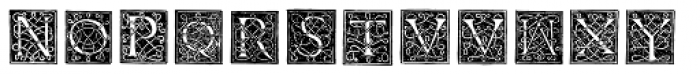 Morphelic Font UPPERCASE