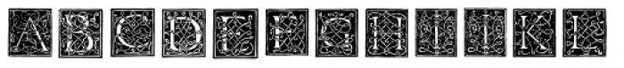Morphelic Font LOWERCASE