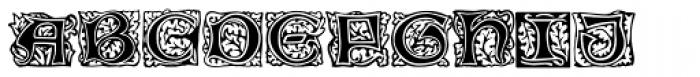 Morris Initials Two Font UPPERCASE