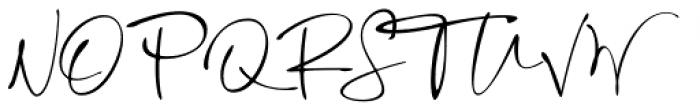 Mortdecai Script Regular Font UPPERCASE