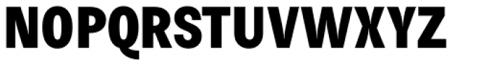 Morton Extra Bold Font UPPERCASE
