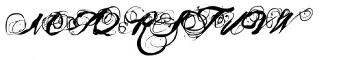 Mosh 1 Font UPPERCASE