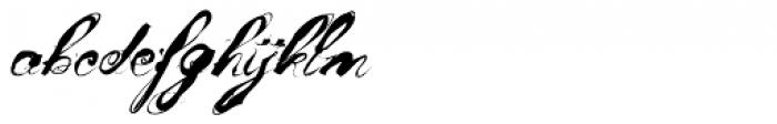 Mosh 1 Font LOWERCASE