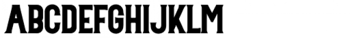 Mosherif Regular Font UPPERCASE
