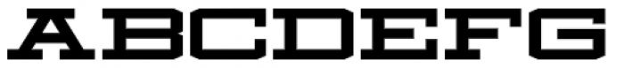 Mosler Safe Font UPPERCASE