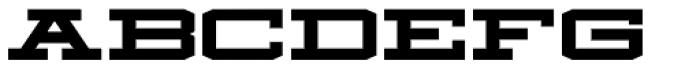 Mosler Safe Font LOWERCASE