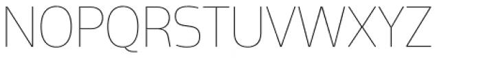 Mosse Thai Thin Font UPPERCASE