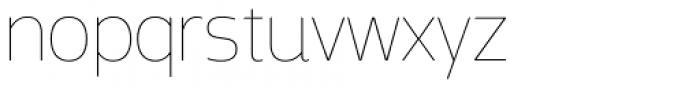 Mosse Thai Thin Font LOWERCASE