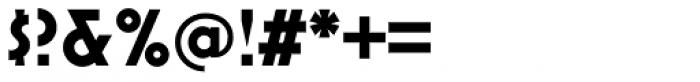 Mostra Nuova Bold Alt B Font OTHER CHARS