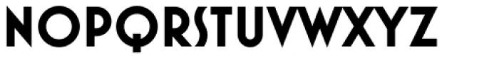 Mostra Nuova Bold Alt B Font UPPERCASE