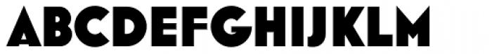 Mostra Nuova Heavy Font UPPERCASE