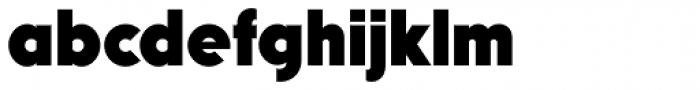 Mostra Nuova Heavy Font LOWERCASE