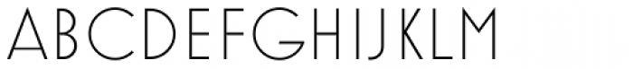 Mostra Nuova Light Font UPPERCASE