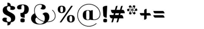 Motavita Poster Font OTHER CHARS