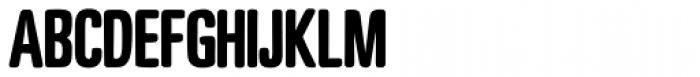 Motel Xenia Bold Font LOWERCASE