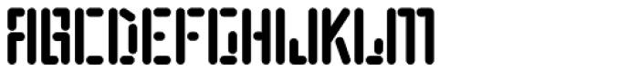 Motherboard JNL Font UPPERCASE