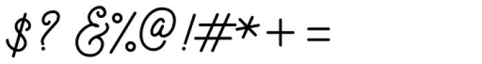 Motherline Regular Font OTHER CHARS