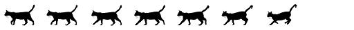 MotionBats Cat Black Font UPPERCASE