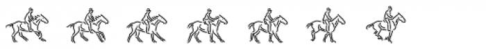 MotionBats Jump Regular Font LOWERCASE