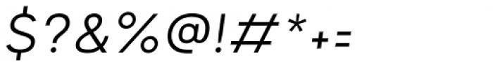 Motiraw ALT Light Italic Font OTHER CHARS