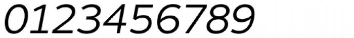 Motiva Sans Light Italic Font OTHER CHARS