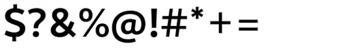 Motiva Sans Medium Font OTHER CHARS