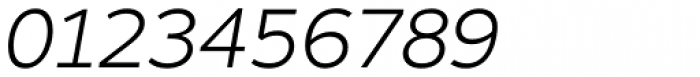 Motiva Sans Thin Italic Font OTHER CHARS