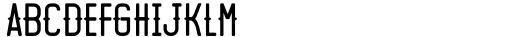 Motopica Regular Font LOWERCASE
