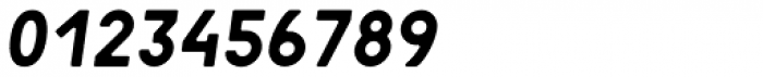 Motor 4F Medium Italic Font OTHER CHARS