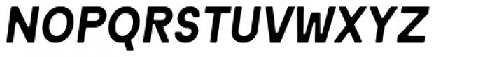 Motor 4F Medium Italic Font UPPERCASE
