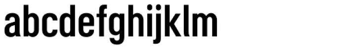 Motorway Semi Bold Font LOWERCASE