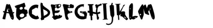 Mototype Premium Font UPPERCASE