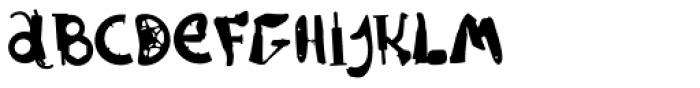 Mototype Premium Font LOWERCASE