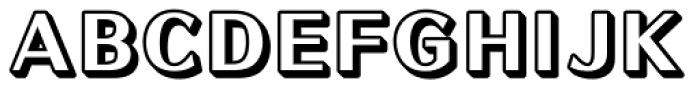 Motoya Sousyoku Sh AJis-W6 Font UPPERCASE