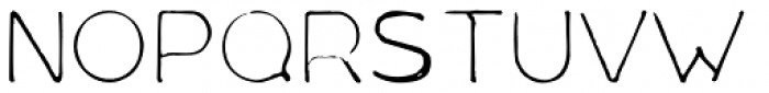 Mould Archi Font UPPERCASE