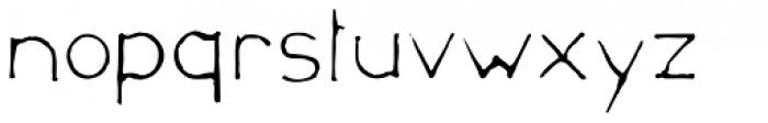 Mould Archi Font LOWERCASE