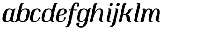 Mount Italic Font LOWERCASE