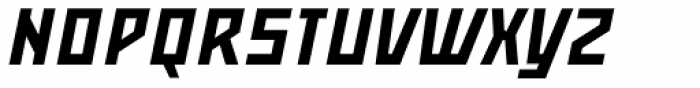 Mountain SC Italic Font UPPERCASE