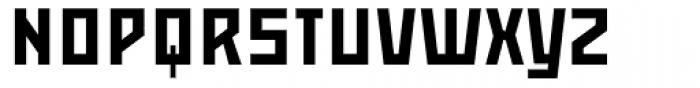 Mountain SC Font UPPERCASE