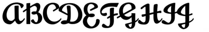 Mousse Script Regular Font UPPERCASE