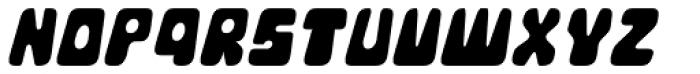 Movella Italic Font UPPERCASE