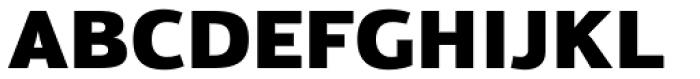 Moveo Sans Black Font UPPERCASE