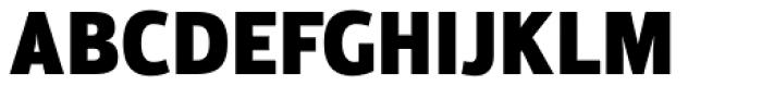 Moveo Sans Cond Black Font UPPERCASE